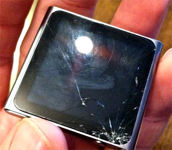 iPod Nano Broken Screen